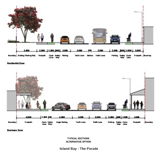 Island Bay cycleway alternative option