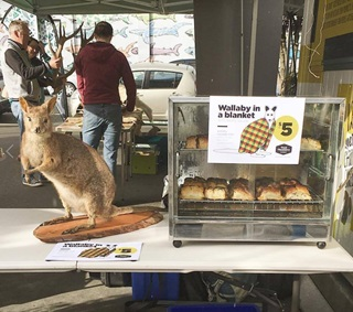 Image of wallaby for pest feast food offering