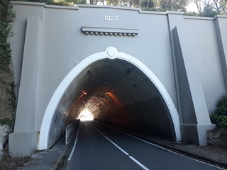 The Northland Tunnel.