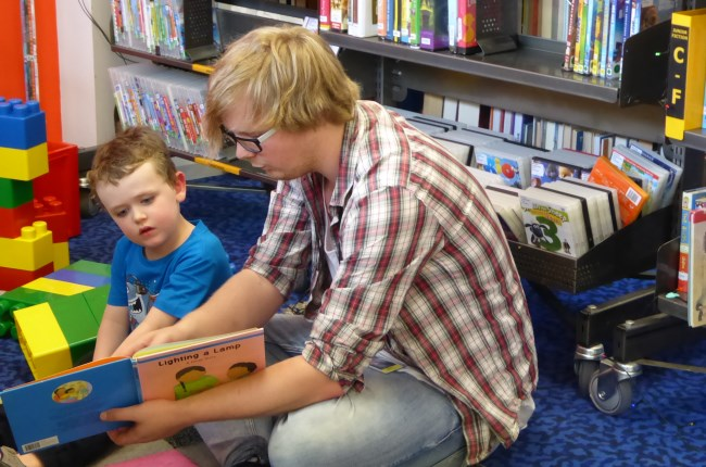 Fostering young minds with love of literacy