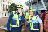 Image of Police taking part at Go By Bike Day 2020