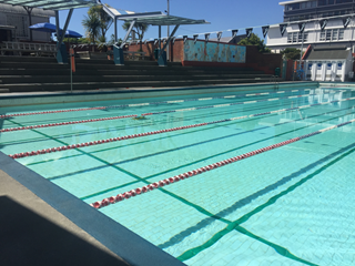 The main pool at Thorndon Pool.