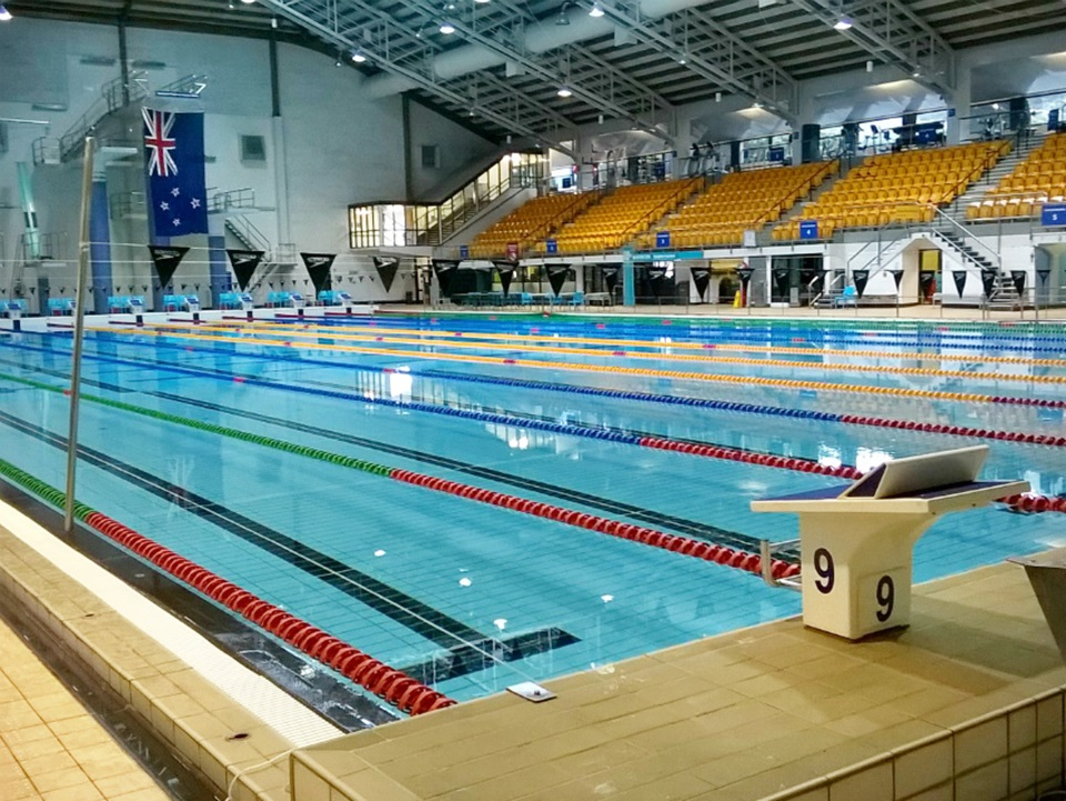 Wellington Regional Aquatic Centre.