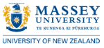 Massey University of Wellington logo.