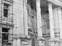 Repairing Wellington Town Hall after the Napier earthquake, circa 1931.