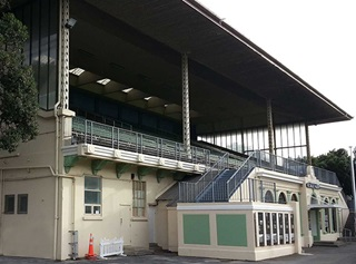 The Museum Stand at the Basin Reserve.