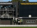The Don Neely Scoreboard at the Basin Reserve.
