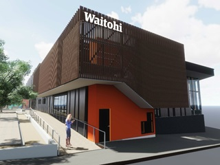 Artists rendering of Waitohi.