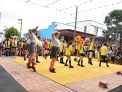 Performance at the Tawa town centre upgrade opening.