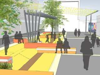 Tawa town centre improvement project
